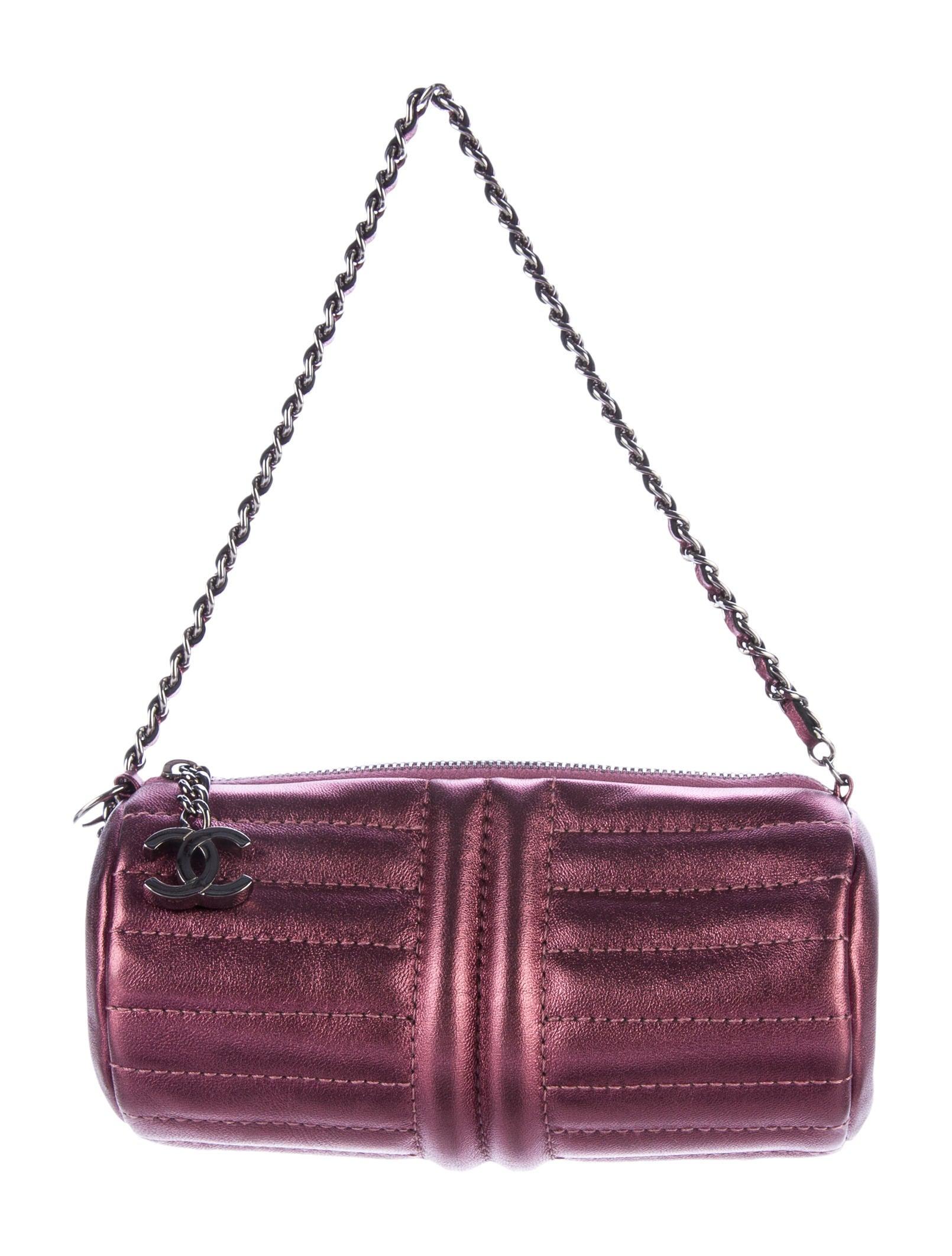 3617d6ba11ef Chanel Mini Barrel Bag - Handbags - CHA182536
