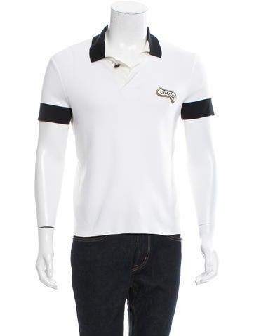 e9ee31e670f Chanel Sequin-Trimmed Polo Shirt - Clothing - CHA182745