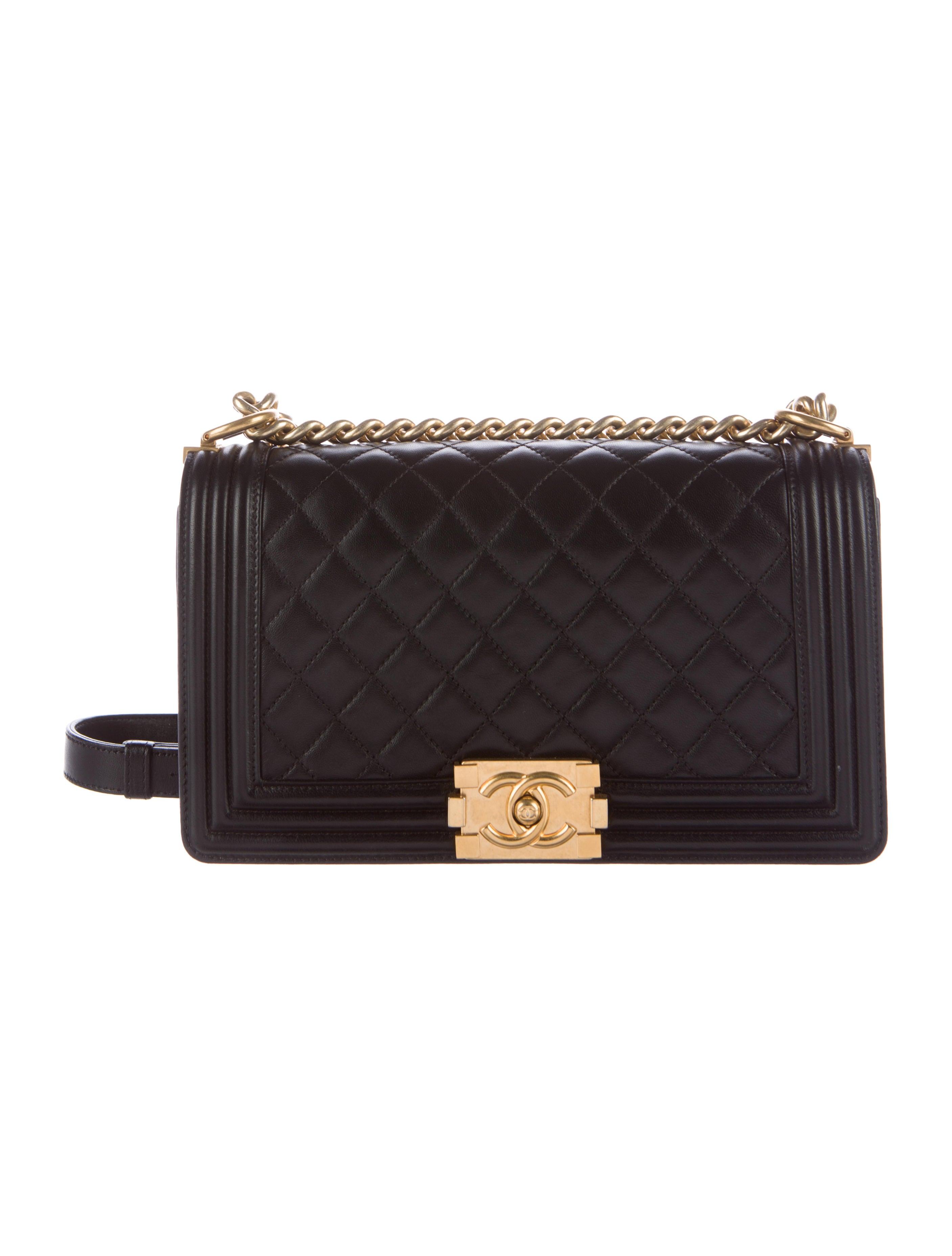 5306663f7eea Chanel Small Boy Bag - Handbags - CHA182847 | The RealReal