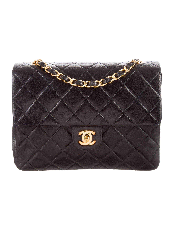 Chanel Väskor Vintage : Chanel vintage quilted flap bag handbags cha