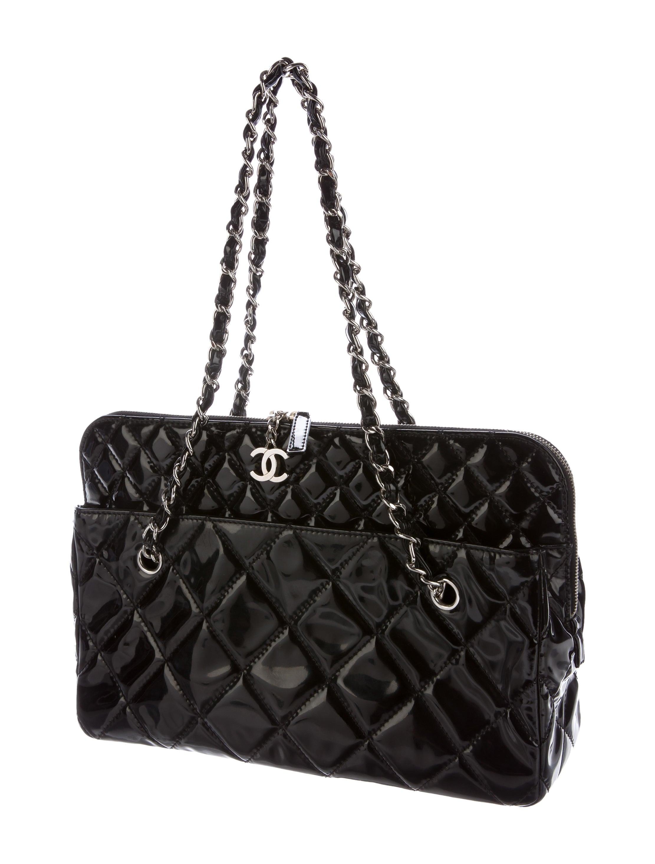 Chanel Vinyl In The Business Camera Bag Handbags