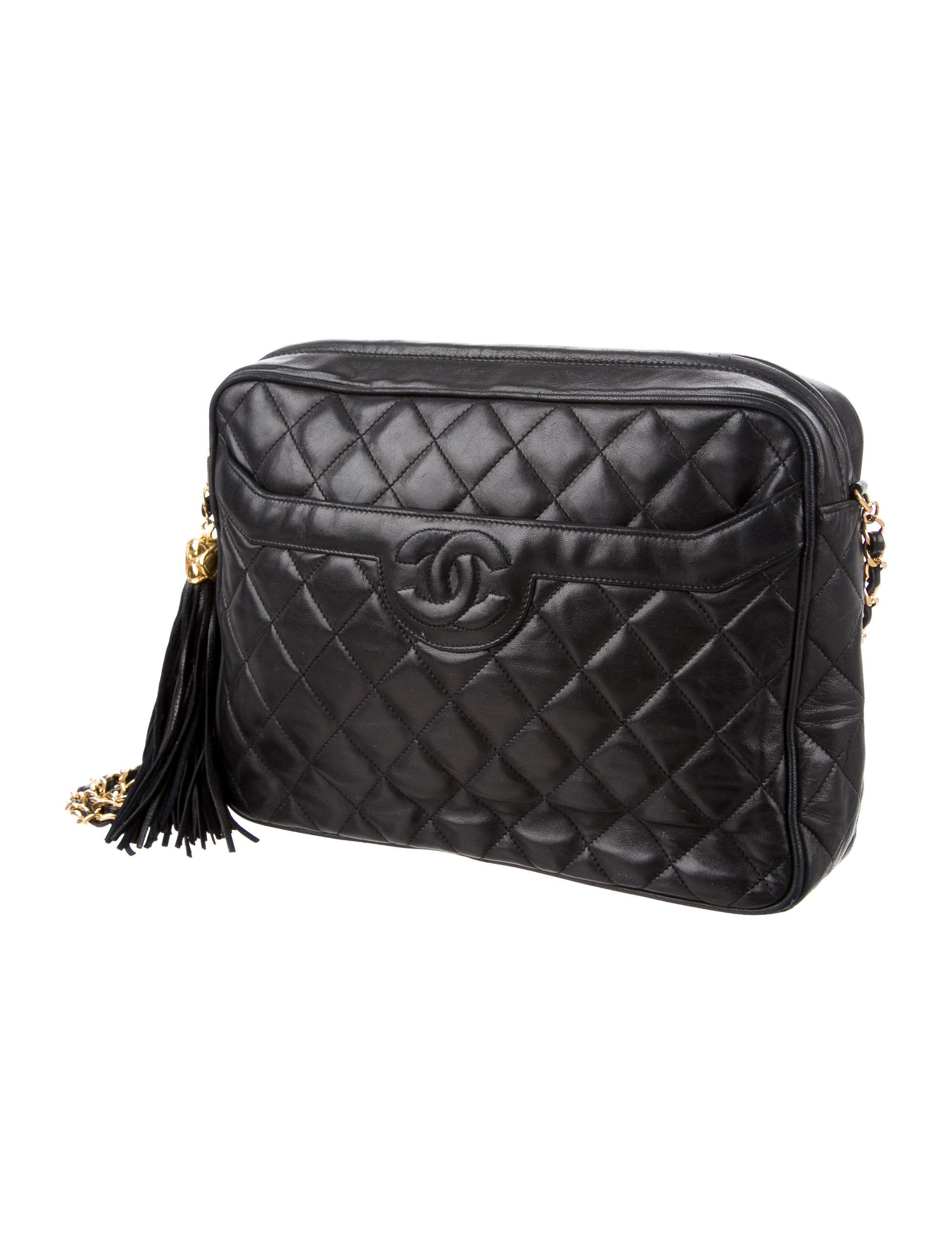 Chanel Lambskin Quilted Camera Bag Handbags Cha183513
