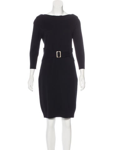Chanel Wool Sweater Dress None
