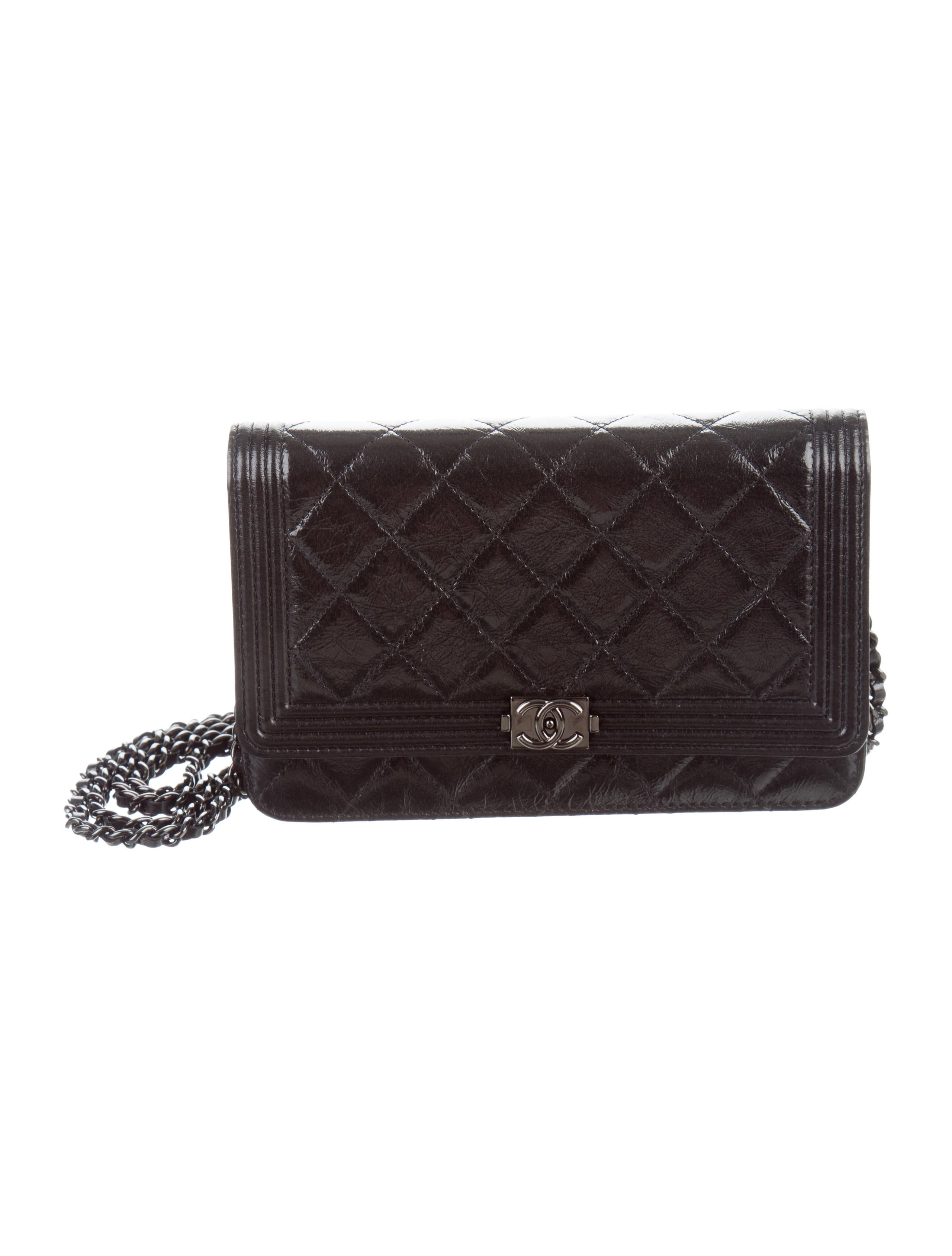 Chanel Boy Wallet On Chain Handbags Cha183916 The