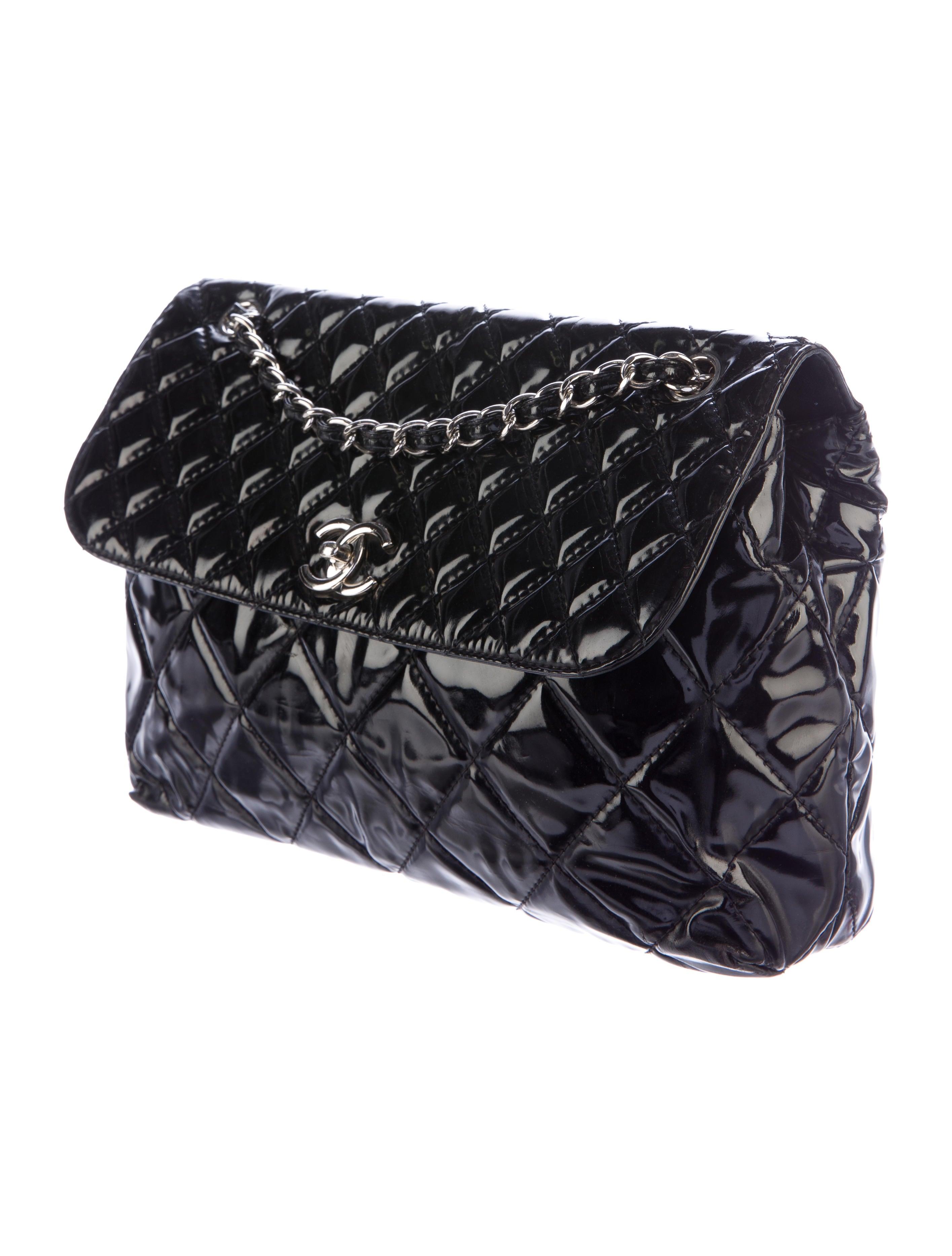 Chanel Vinyl In The Business Flap Bag Handbags