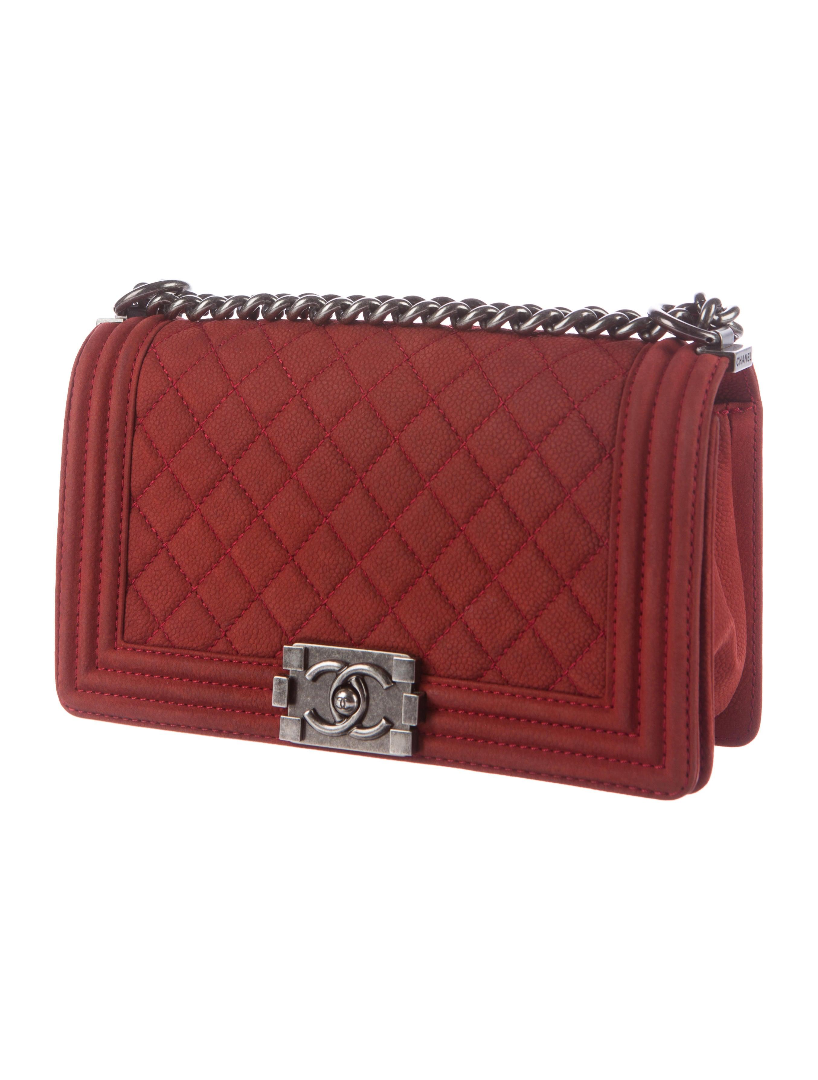 Chanel Quilted Medium Boy Bag - Handbags - CHA184271