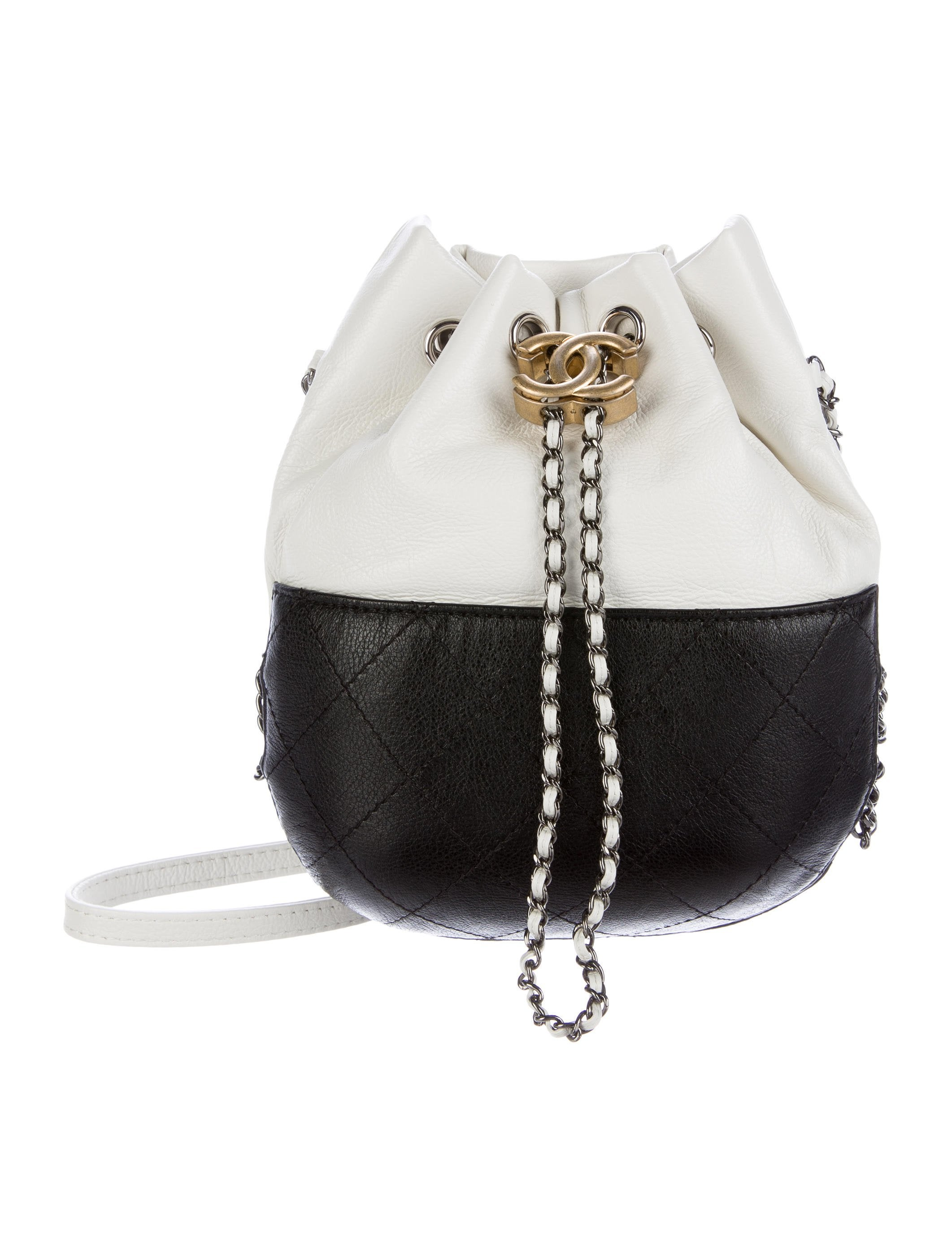 39adafa78597 Chanel 2017 Calfskin Gabrielle Bucket Bag - Handbags - CHA184363 ...