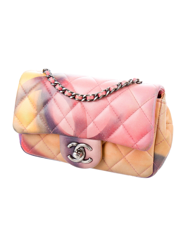 Chanel 2015 Mini Flower Power Extra Flap Bag - Handbags - CHA184808 | The RealReal