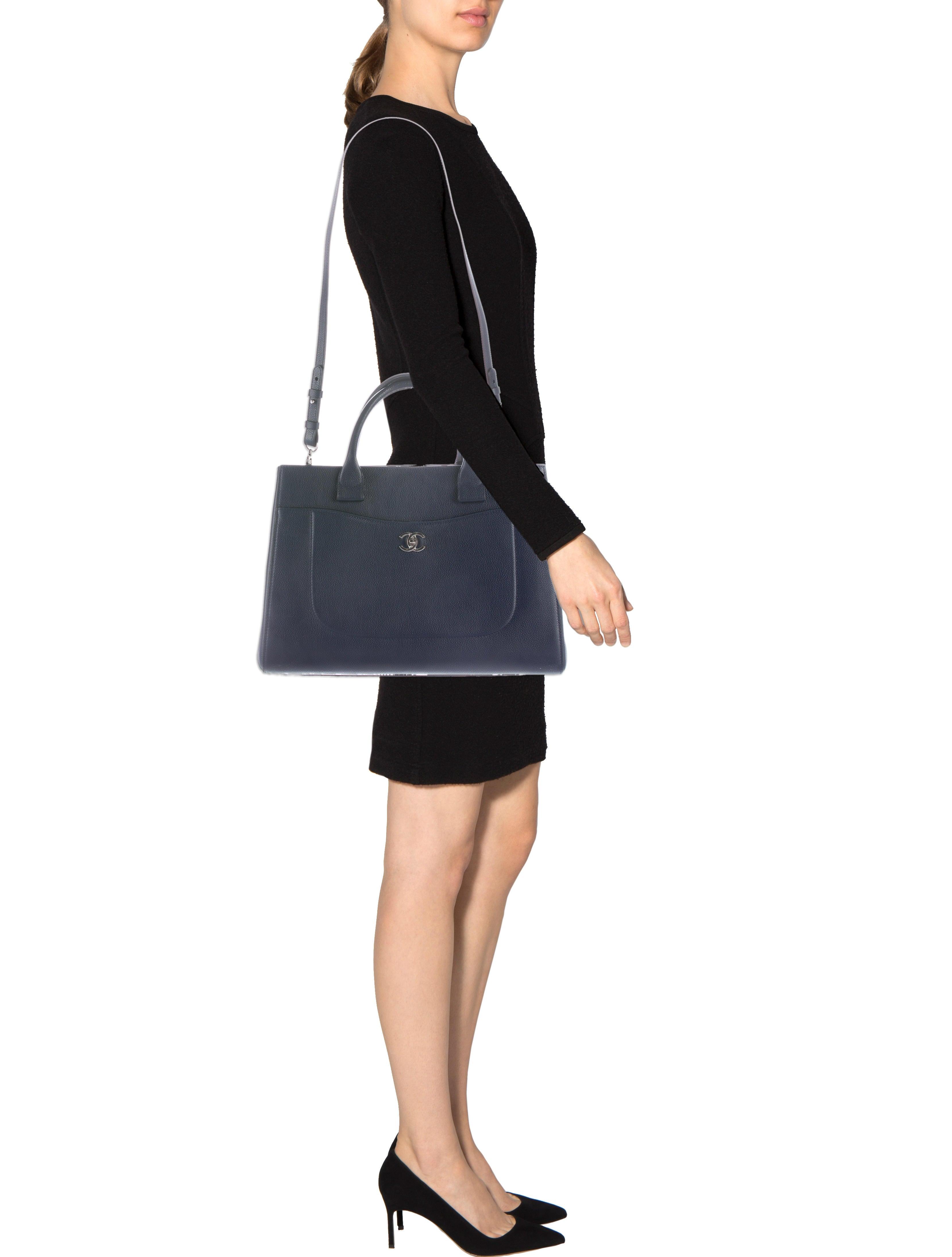 Chanel 2017 Large Neo Executive Shopping Tote Handbags