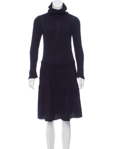 Chanel Wool Sweater Dress None