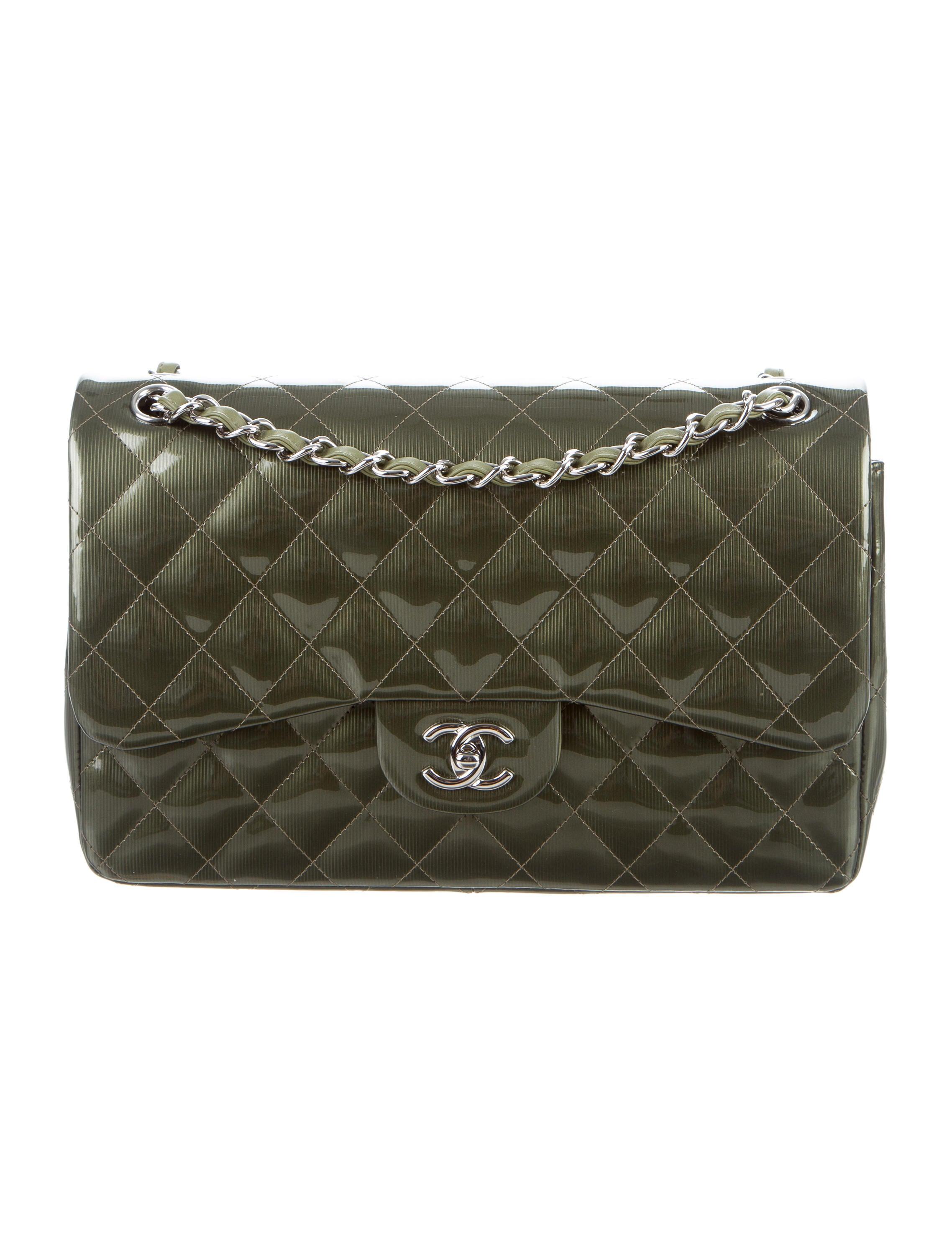 4f10818ef2ce Chanel Classic Flap Bag Green | Dr.Paul