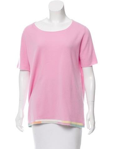 Chanel Cashmere Colorblock Sweater None