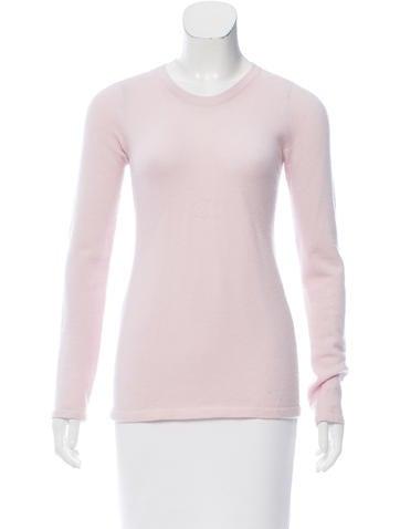 Chanel Cashmere Logo Sweater None