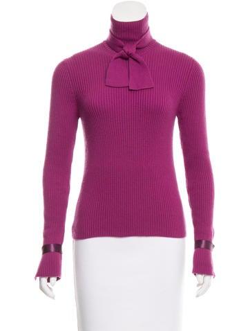 Chanel Cashmere Turtleneck Sweater None