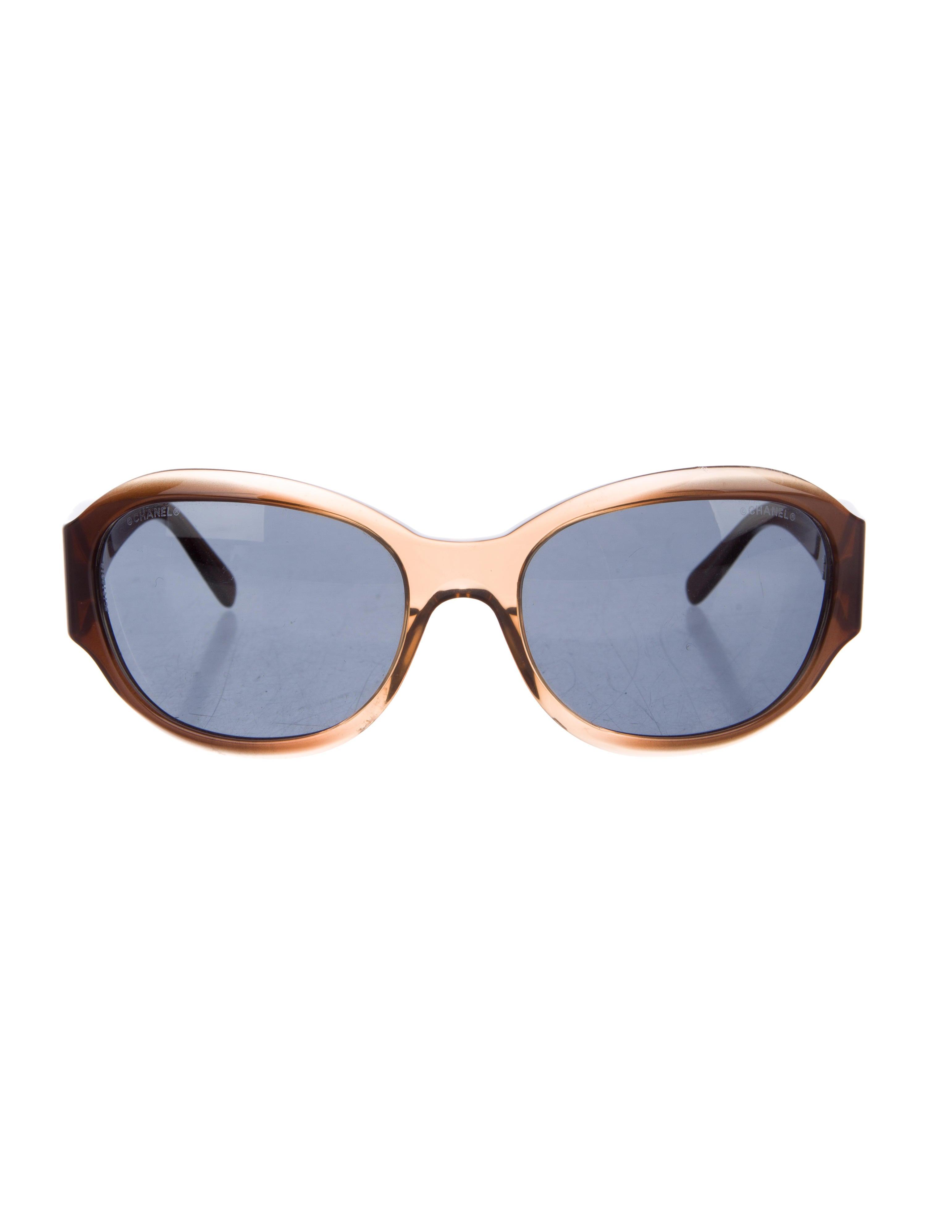 9910139ead Chanel Round CC Sunglasses - Accessories - CHA186745