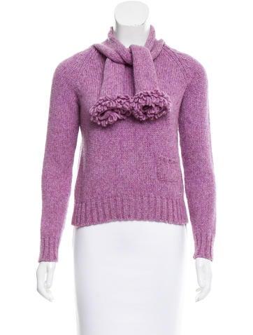 Chanel Metallic Wool Sweater None