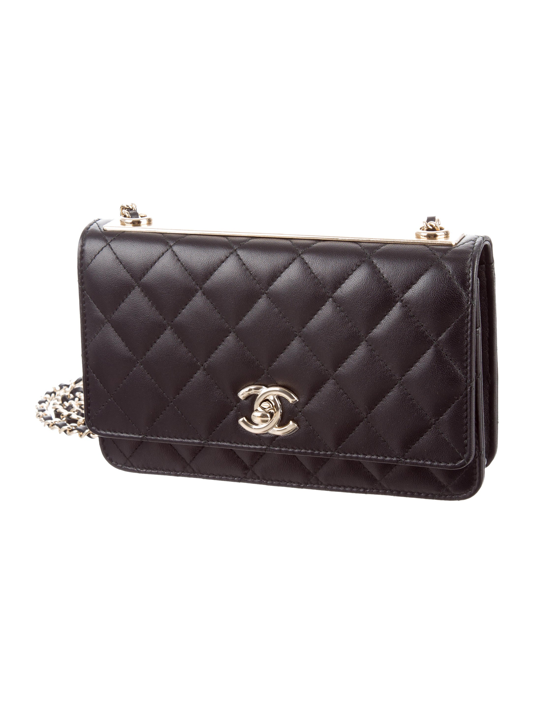 80003dc013a Chanel 2017 Trendy CC Wallet On Chain - Handbags - CHA186912 | The RealReal
