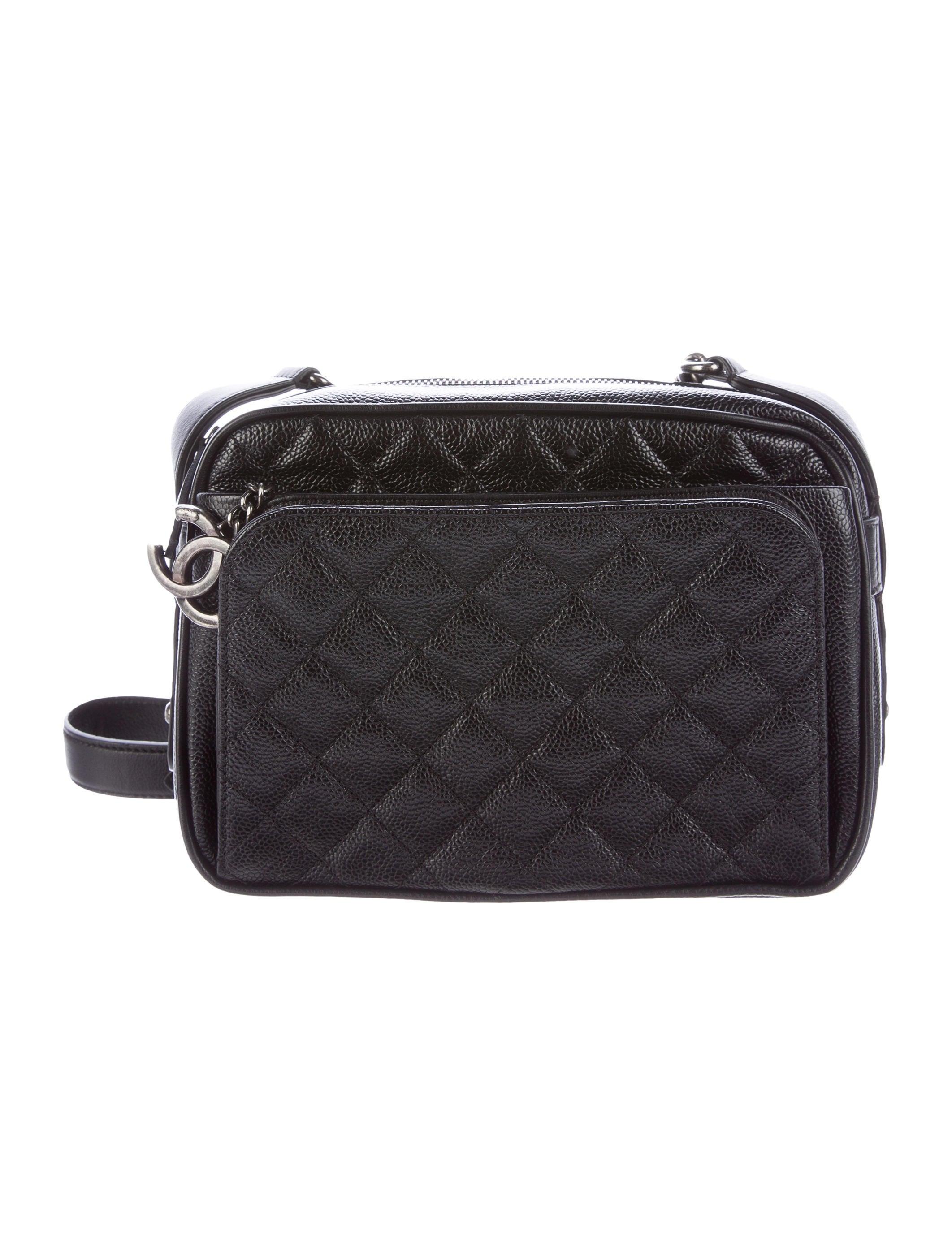 d782b516d6b9 Chanel 2016 Caviar Medium Business Trip Camera Bag - Handbags ...
