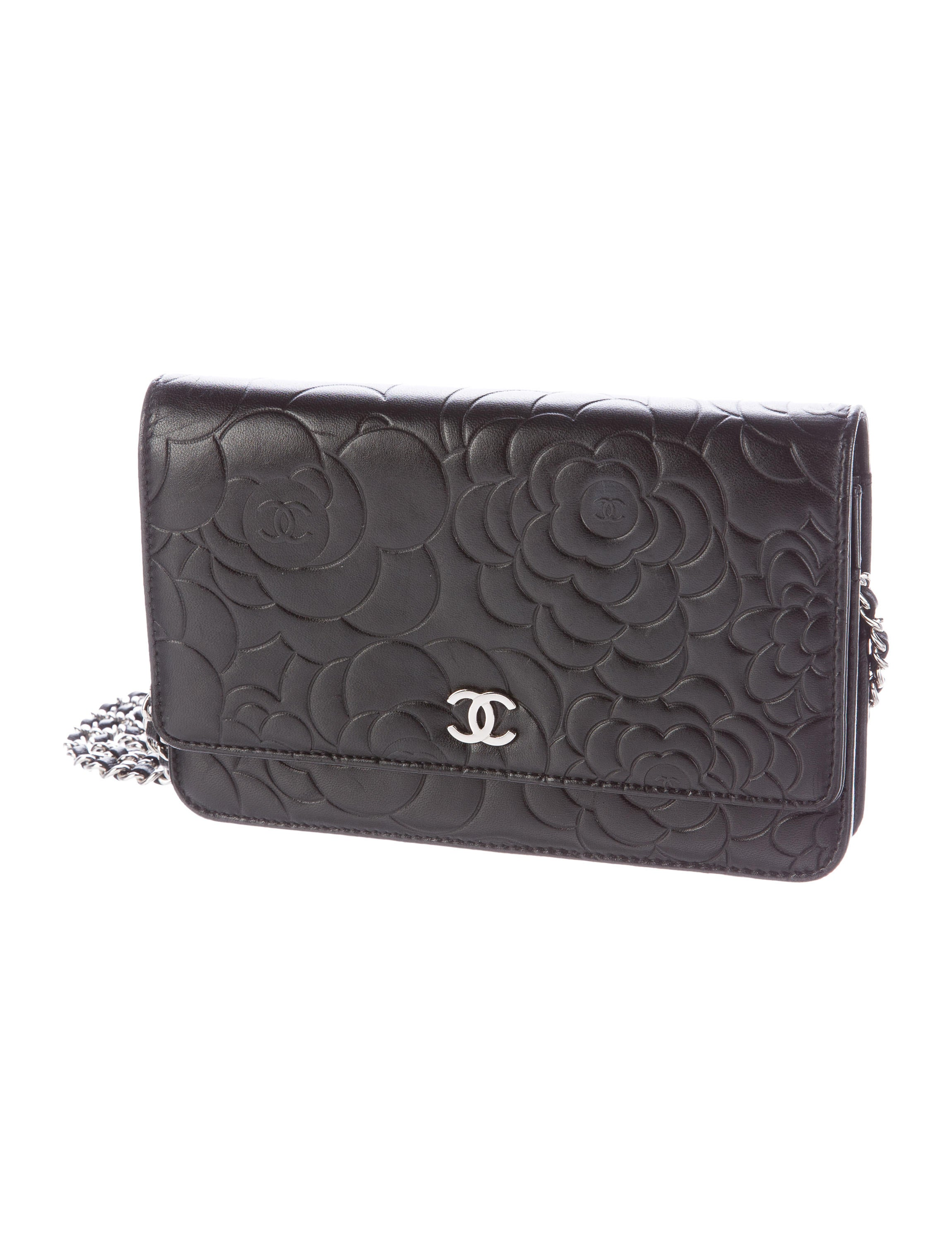 Chanel Camellia Wallet On Chain - Handbags - CHA187133 ...