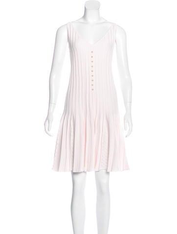 Chanel Knit Sleeveless Dress w/ Tags None