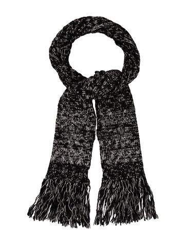 Chanel Embellished Mélange Scarf None
