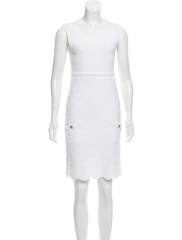 Chanel Knit Mini Dress None