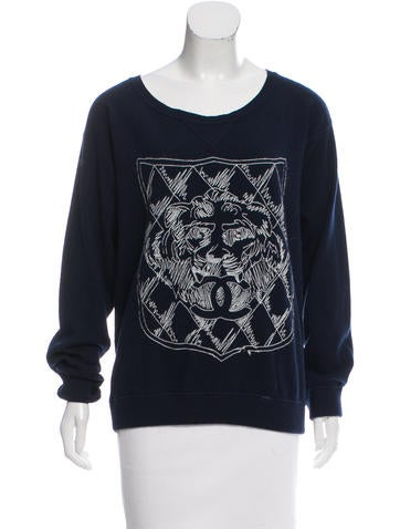 Chanel Embroidered Cashmere Sweater None