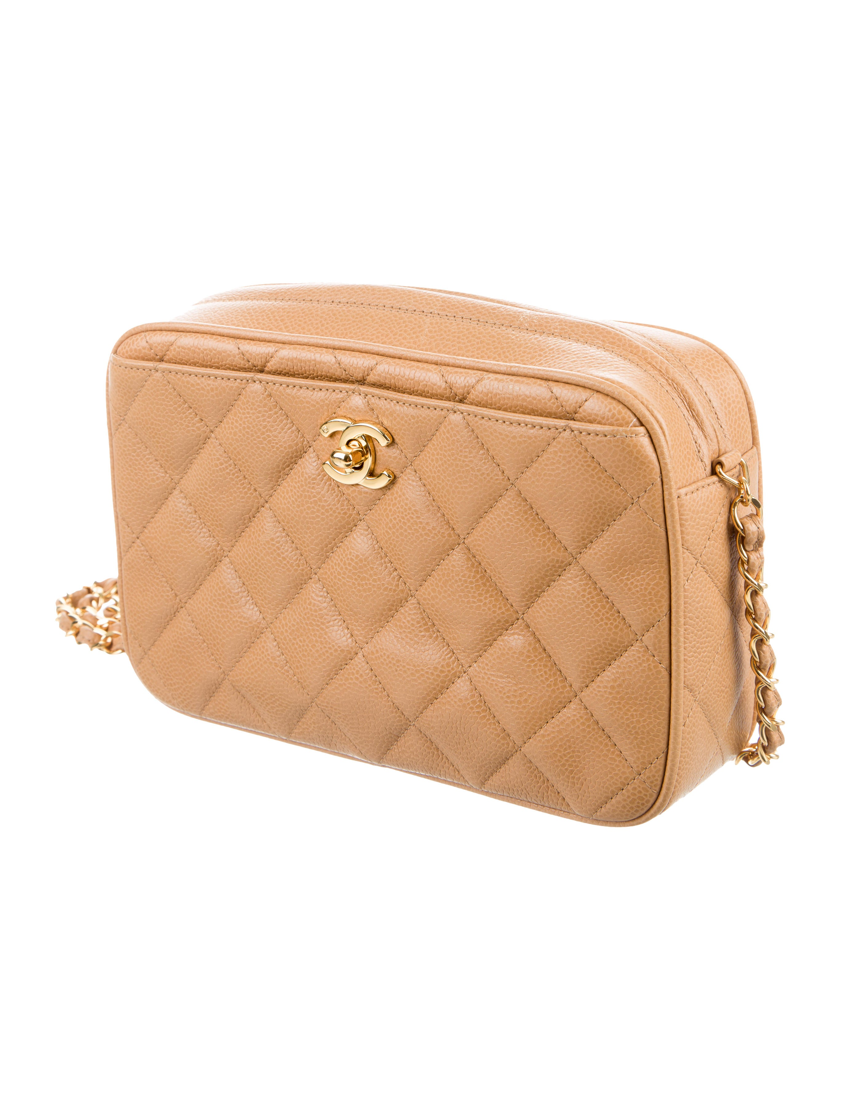 chanel vintage beige camera bag handbags cha188365