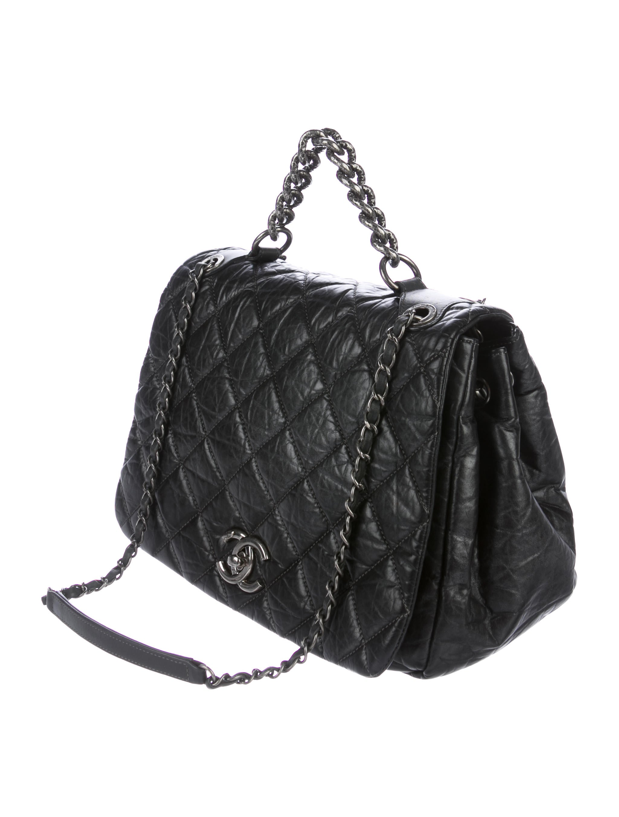 Chanel Large Grocery Shopping Basket W Tags: Chanel Pondicherry Large Flap Bag