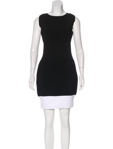 Chanel Quilted Sleeveless Dress w/ Tags None