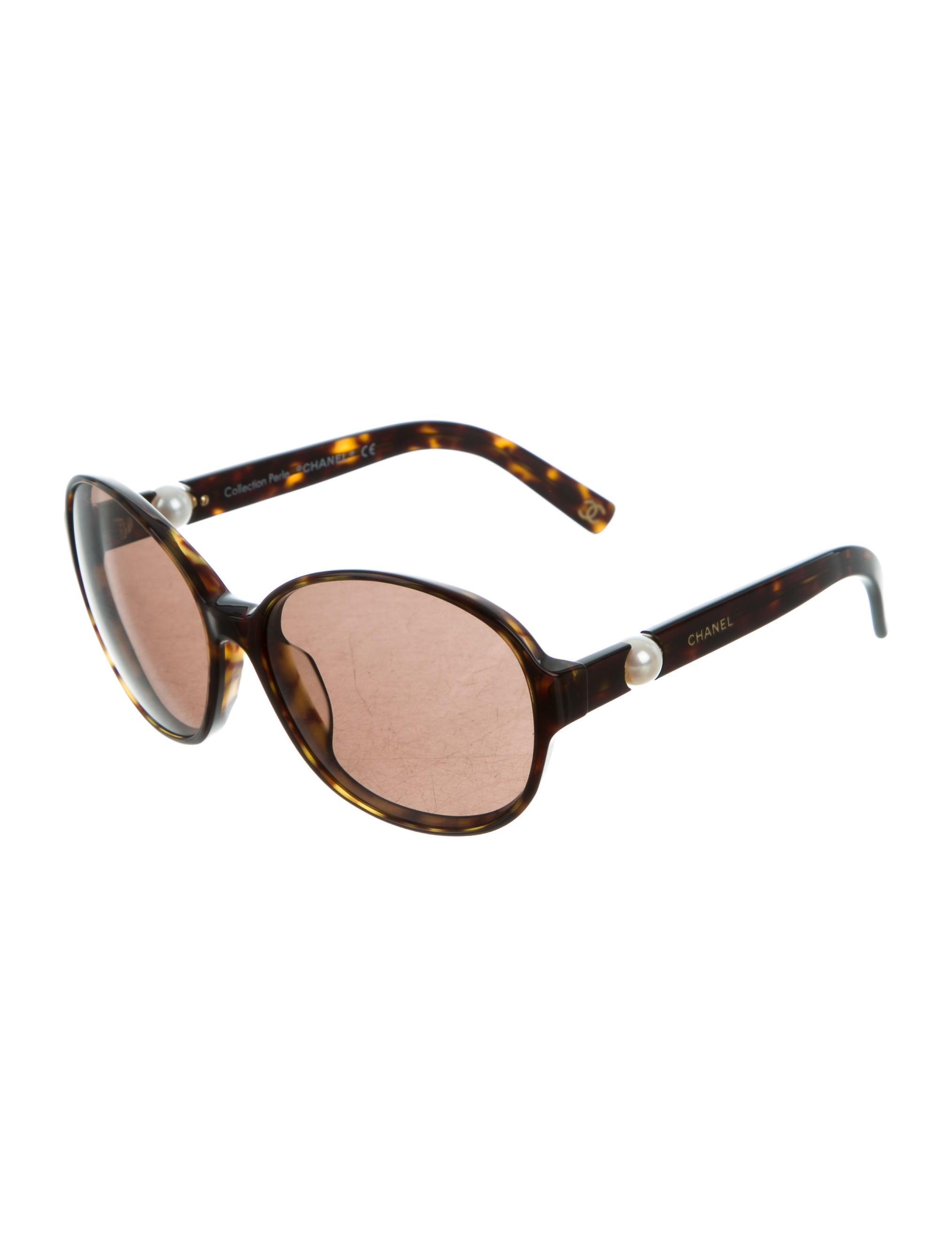 8fb719a5b11 Chanel Perle Tortoiseshell Sunglasses - Accessories - CHA189275