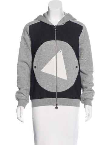 Chanel Quilted Hooded Jacket None