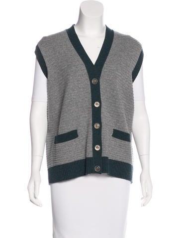 Chanel Cashmere Sweater Vest None