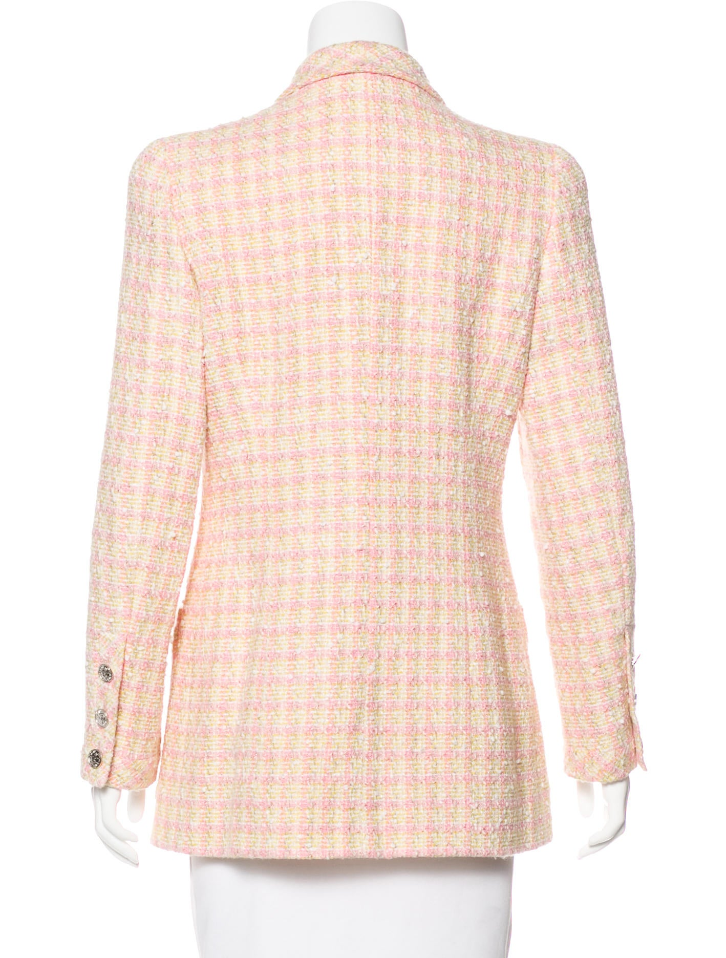chanel vintage boucl 233 jacket clothing cha189991 the
