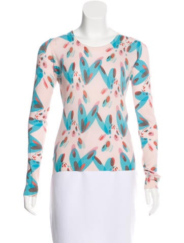 Chanel Cashmere Patterned Sweater None