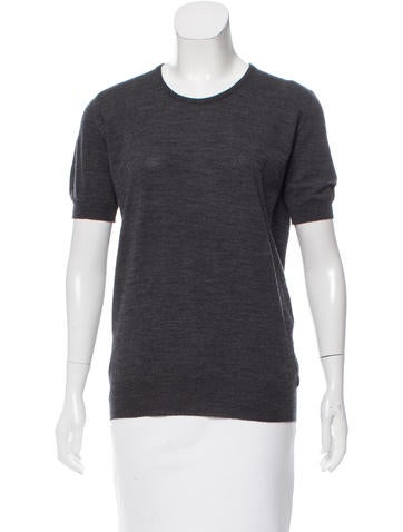 Chanel Wool Crew Neck Top None