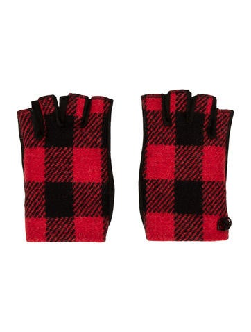 Chanel Fingerless Gloves None