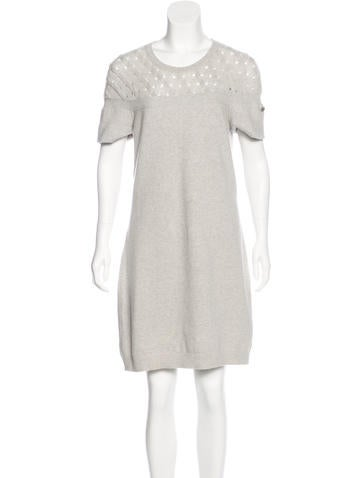 Chanel Quilted Cashmere Dress None