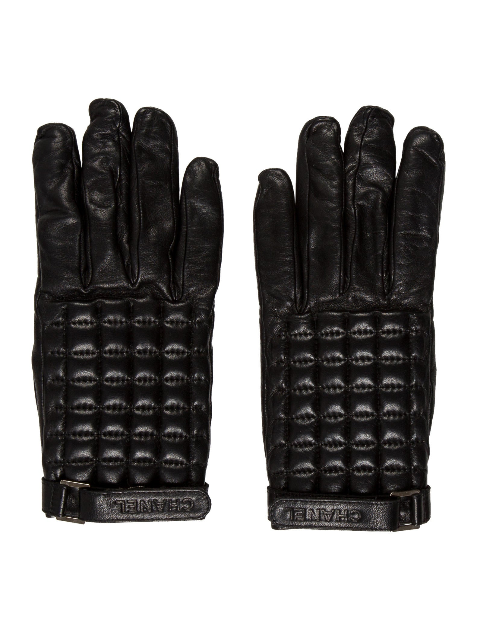 Chanel Leather Quilted Gloves - Accessories - CHA190717 ...