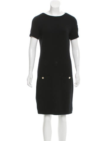 Chanel Embellished Cashmere Dress None
