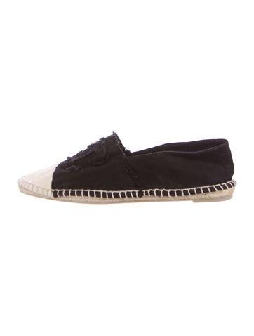 chanel cc canvas espadrilles shoes cha191228 the