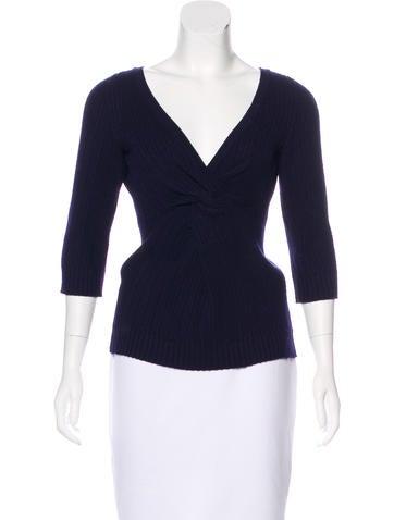 Chanel Cashmere Knit Sweater None