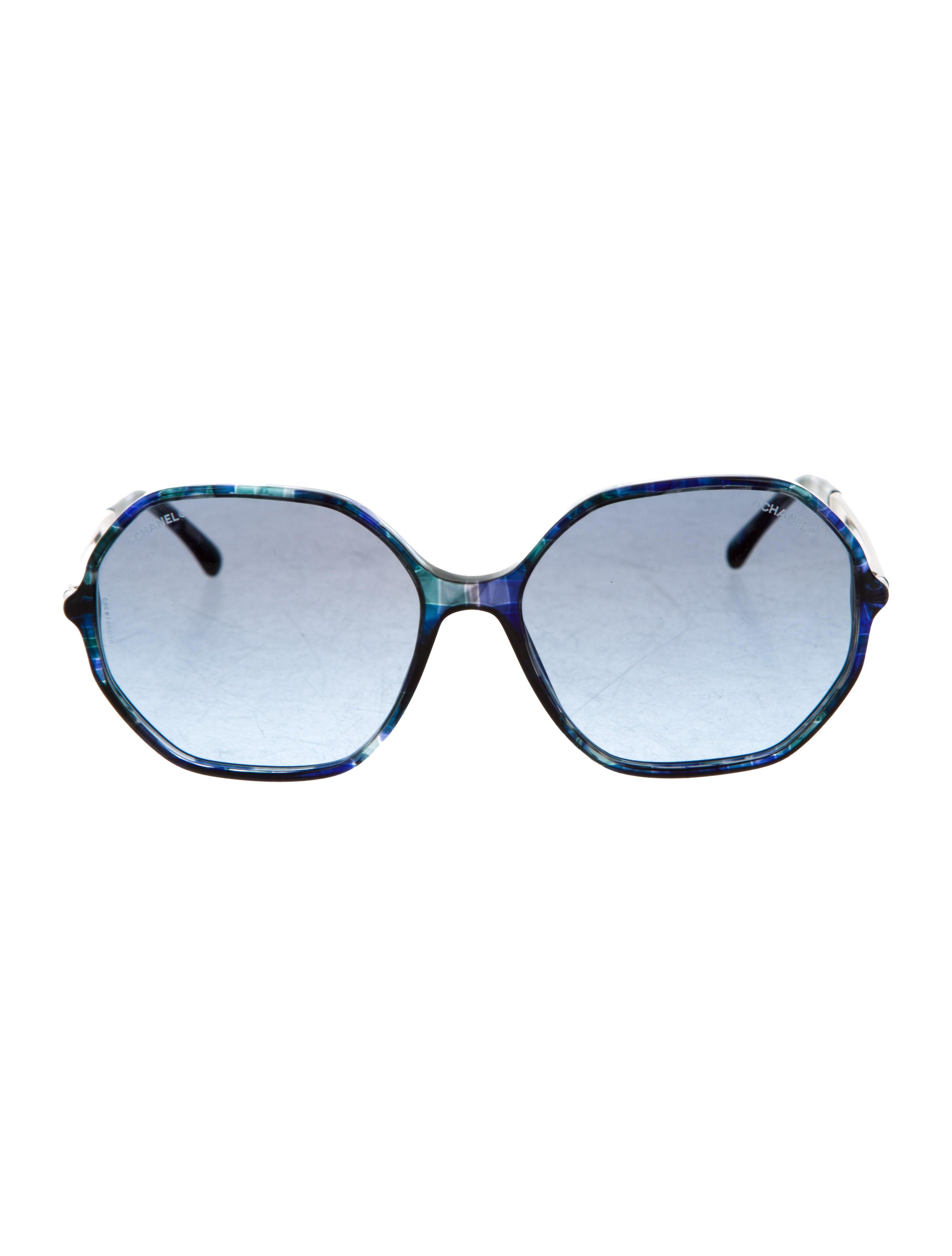 eb8267ec14ca Chanel Round Spring Sunglasses
