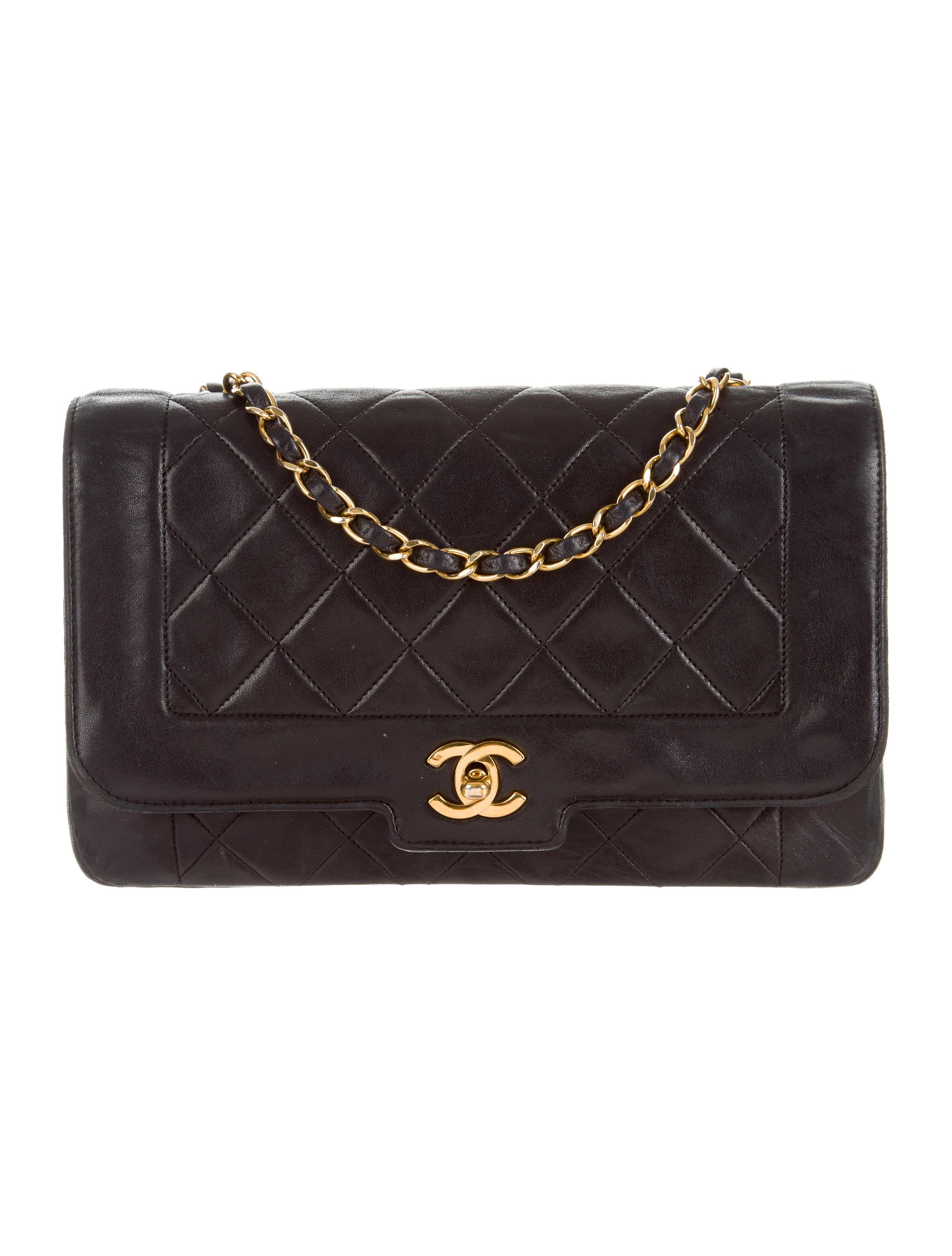 Chanel Vintage Lambskin Flap Bag - Handbags