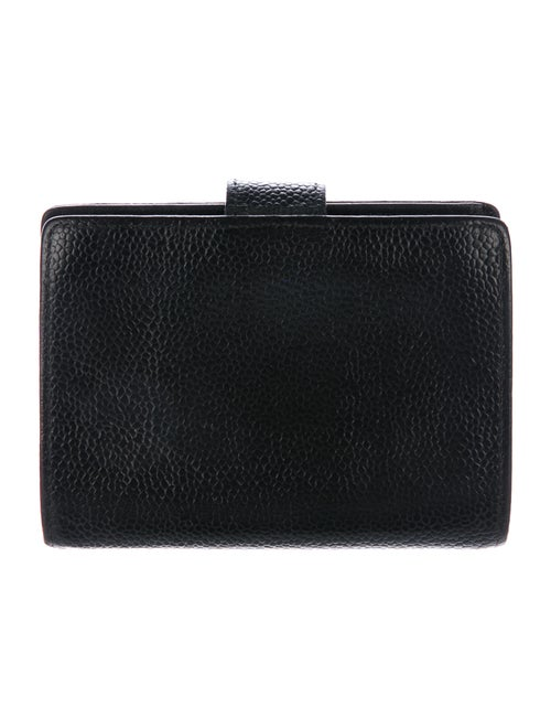 d6b788cdc2eb Chanel Caviar Timeless Compact French Purse Wallet - Accessories ...