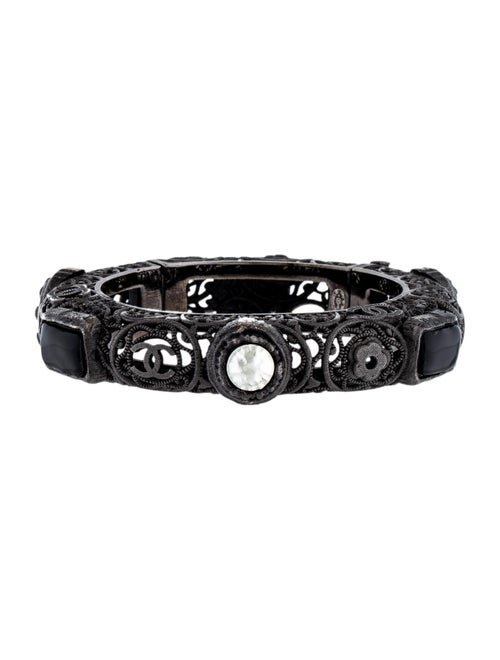 Chanel Filigree Bangle Bracelet