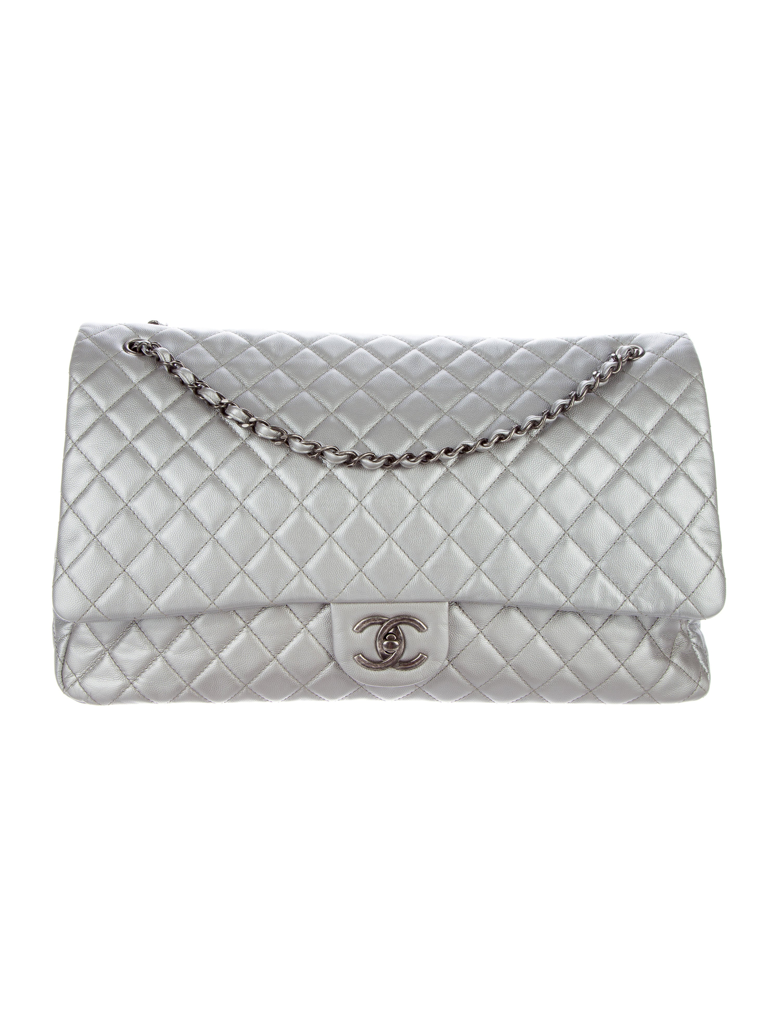 57f05ed29355 Chanel 2016 Xxl Airline Classic Flap Bag | Stanford Center for ...