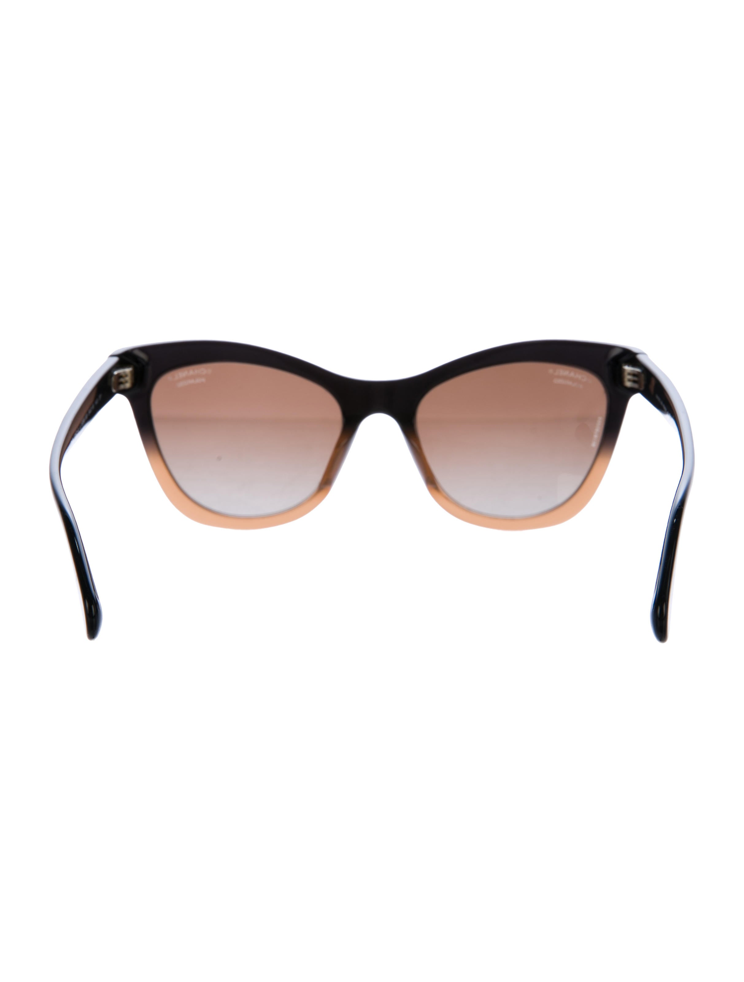 63491fe2e7 Chanel Signature Cat-Eye Sunglasses - Accessories - CHA192400