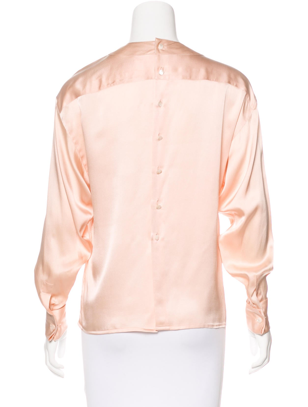 chanel vintage pleated blouse clothing cha192472 the