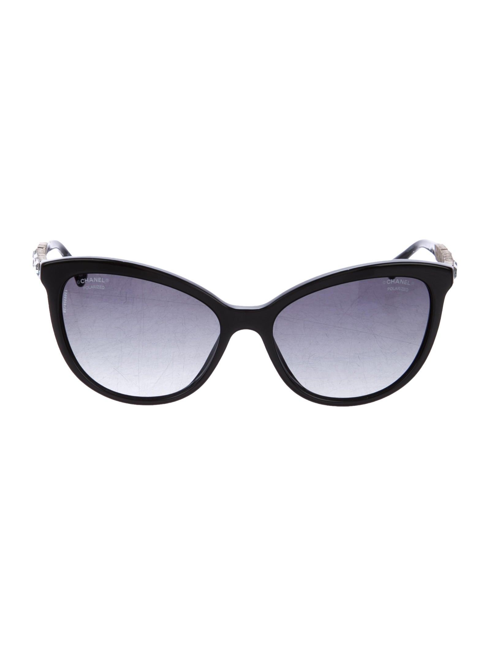 b924f338bb Chanel Bijou Cat-Eye Sunglasses - Accessories - CHA192557